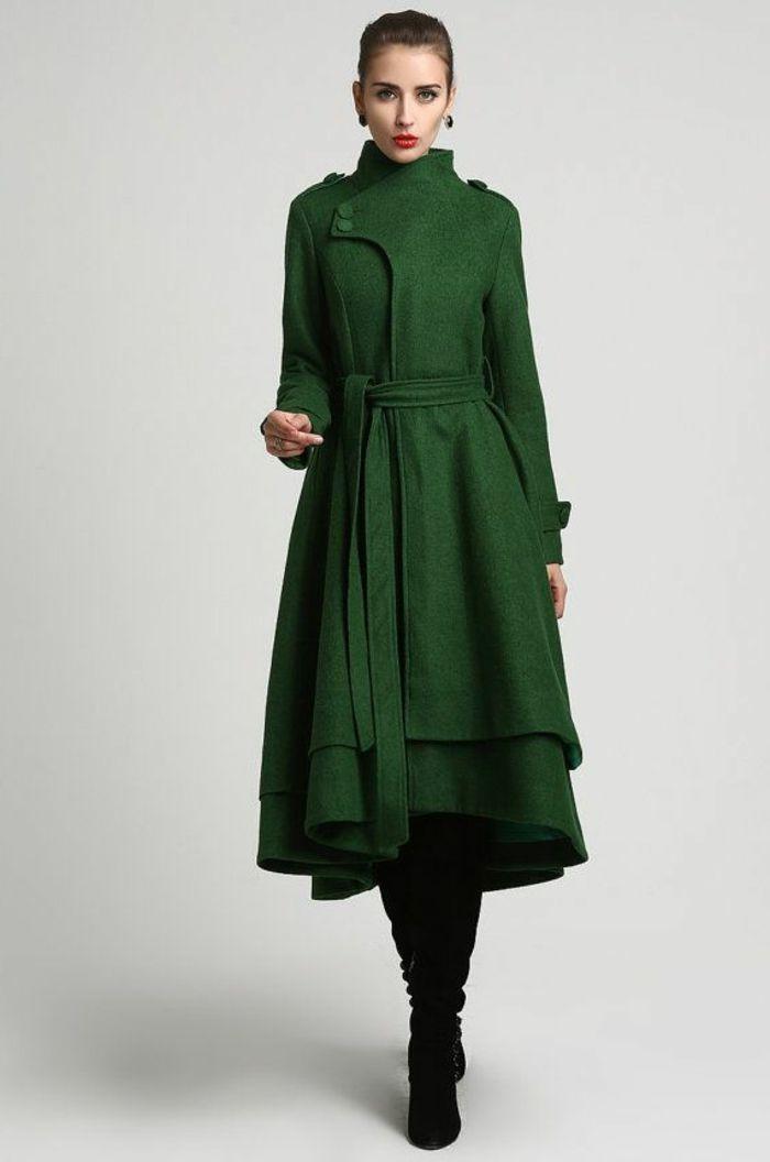choisir le plus l gant manteau long femme parmi les photos coats dark autumn and elegant dresses. Black Bedroom Furniture Sets. Home Design Ideas