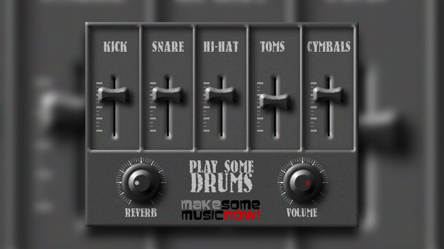 Play Some Drums FREE Drum Sampler VST Instrument Released by Luis