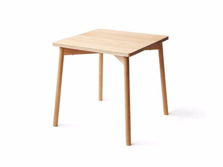 Tavolo quadrato in legno | Nikari | I like it | Pinterest