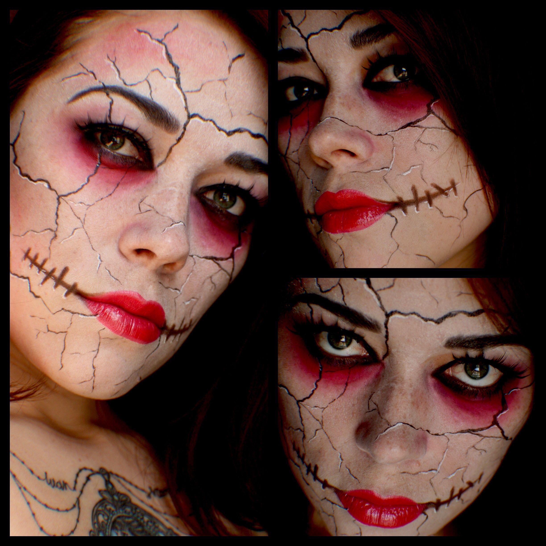 Broken doll Best makeup products, Makeup, Halloween face
