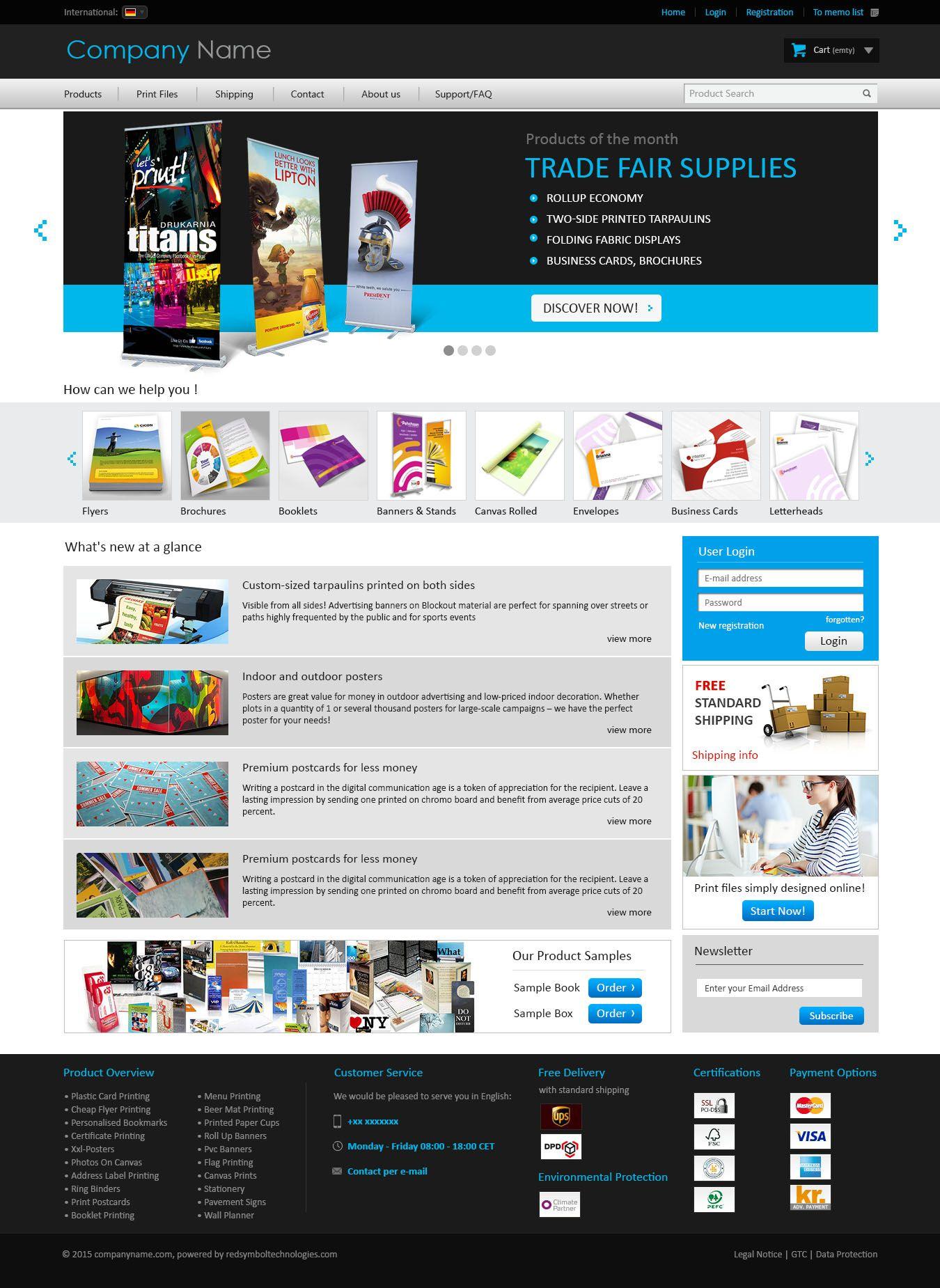 Print media website templates website design pinterest print media website templates pronofoot35fo Image collections