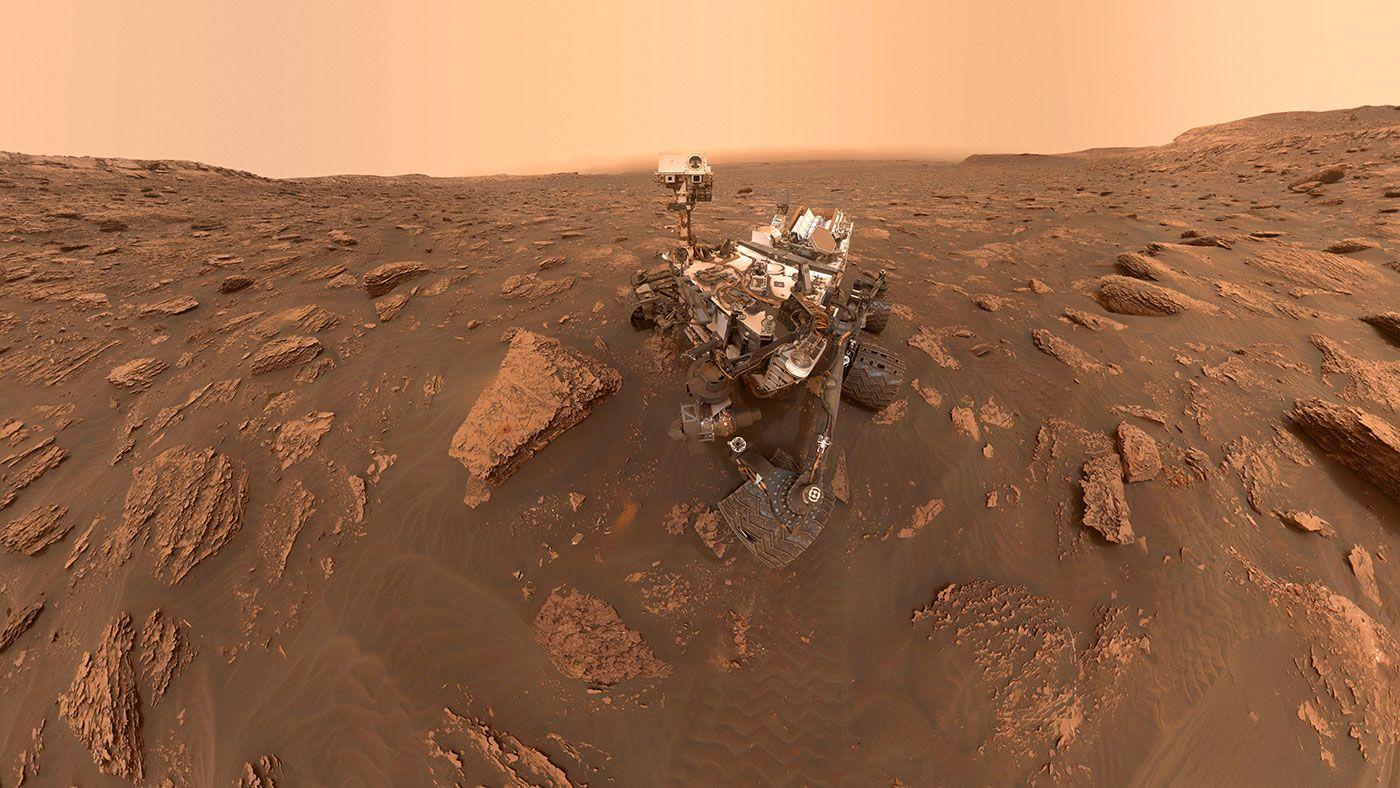 Nasa S Curiosity Rover Is On The Move Again