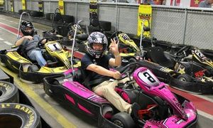 Groupon - Indoor Go-Kart Races, Laser Tag, Mini Golf, and Sodas for ...