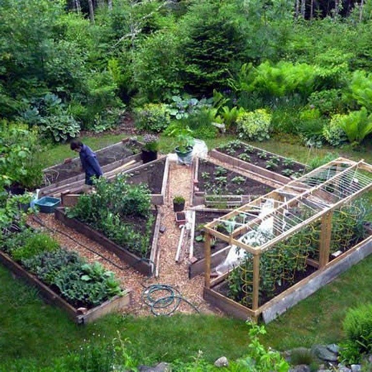 25 Beauty Potager Garden Design Ideas Vegetable Garden Layout Plan Garden Layout Vegetable Fruit Garden Design