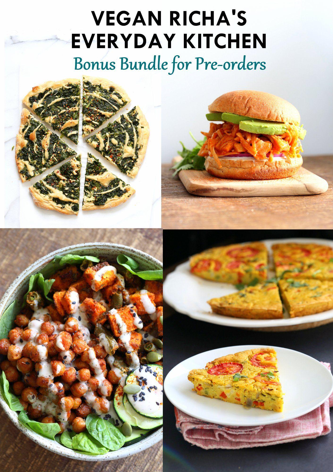 Pre Order Bonus Bundle Is Here Vegan Entree Recipes Vegan Indian Recipes Vegan Richa