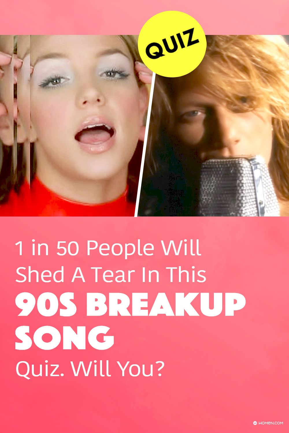 1 In 50 People Will Shed A Tear In This 90s Breakup Song Quiz Will You Breakup Songs Songs Quizzes For Fun