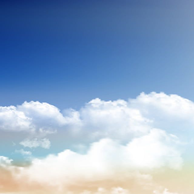 Realistic Clouds On Blue Sky Background 0609 Landscape Blue Sky Summer Png And Vector With Transparent Background For Free Download Blue Sky Background Clouds Blue Sky Clouds