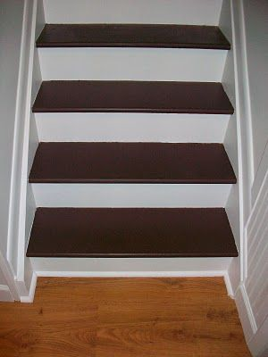 Best How To Paint And Refinish Your Stairs Painted Stairs 400 x 300