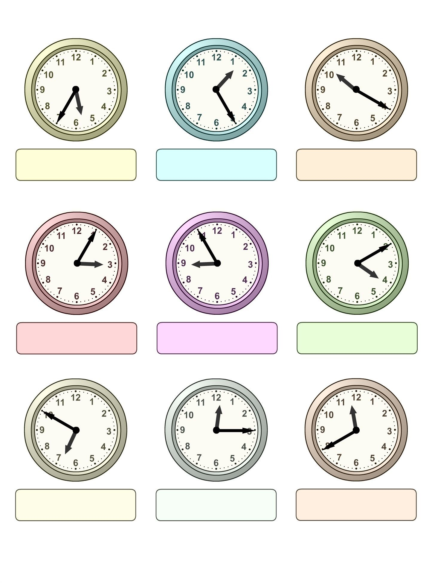 Pin By Ingrid Rottenbiller On Thinglink Time Worksheets Worksheets For Kids Kids Worksheets Printables