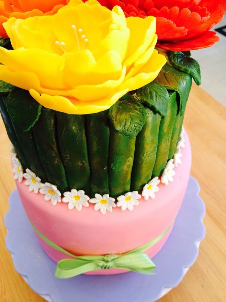 Flower birthday bouquet cake cake food birthday bouquet