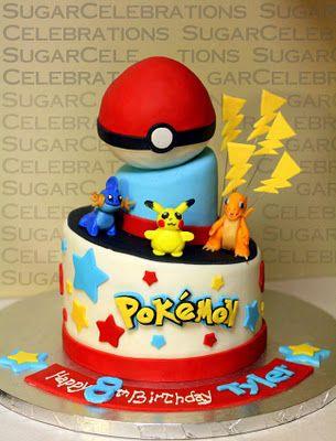 Pokemon Cake.