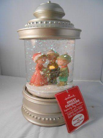 Amazon.com: Hallmark Sweet Carolers Lighted Snow Globe: Furniture & Decor