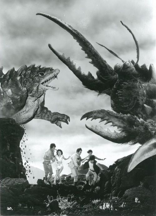 Publicity still for SPACE AMOEBA (1970), making the film seem just that wee bit more exciting than it is.
