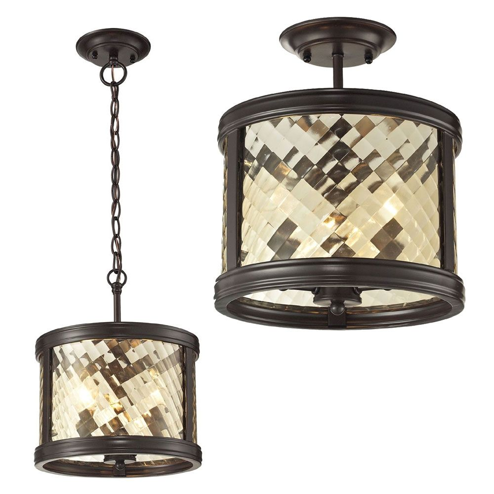 Oil Rubbed Bronze Ceiling Light Fixture