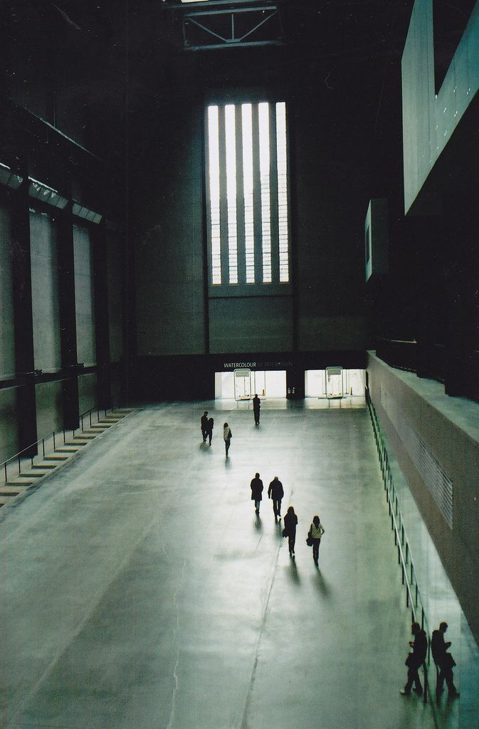 Empty Tate Museum In London I Think Architecture Installation Art Inspiration