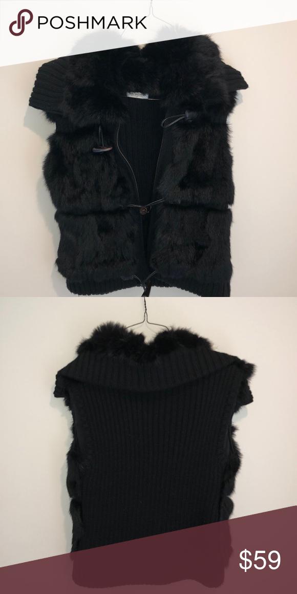 Acc Posh Pinterest Fur Vest Picks Sweater My Yves Solomon aqvx6gww
