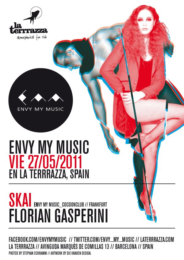 Emm At La Terrrazza Barcelona Event Artwork Movie