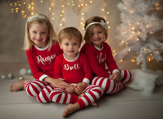 Kids Christmas Pajamas.Kids Christmas Pajamas Kids Christmas Jammies By