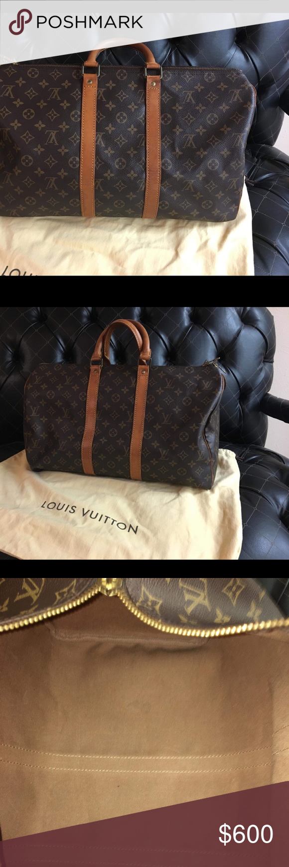 Authentic Keep all 45 carry on Louis vuitton travel bags