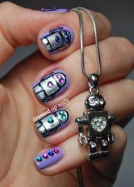 Digit-al Dozen geek week day 3 ; robot nails!