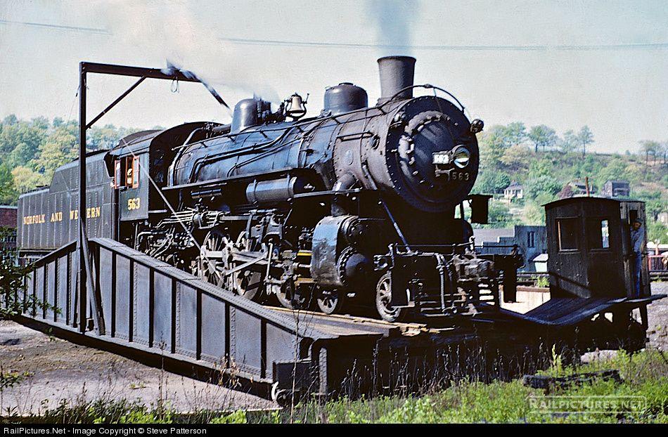 Photo NW 563 Norfolk & Western Steam 46