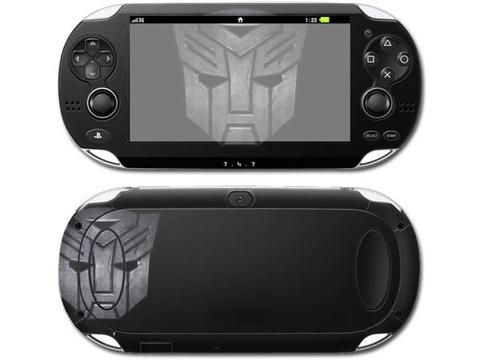 Transformers Logo skin decal for PSP vita 1000 console