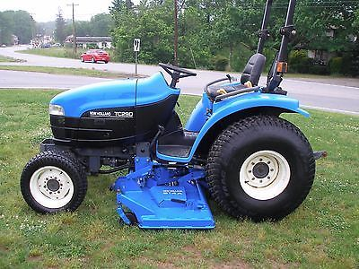 Nice New Holland Tc29d 4x4 Tractor With Super Steer New Holland Tractors Holland