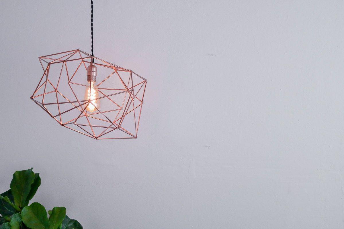 Himmeli Light Fixture DIY (sin soldadura)