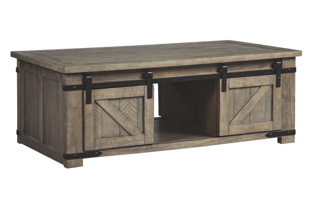 Aldwin Coffee Table Ashley Furniture Homestore Grey Wood