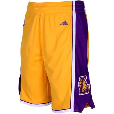 4c7f9bfa adidas Los Angeles Lakers Gold Swingman Shorts | My inner jock in ...