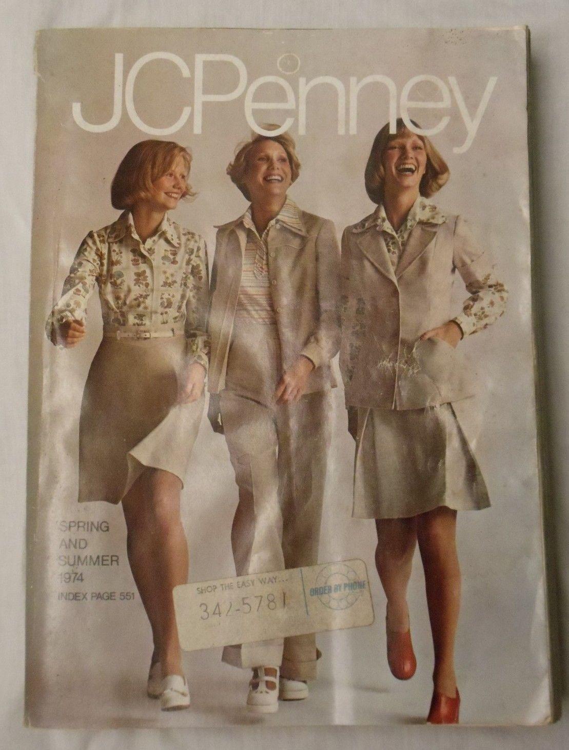 Vintage 1974 JCPenney Spring & Summer Catalog | JCPenney Memories ...