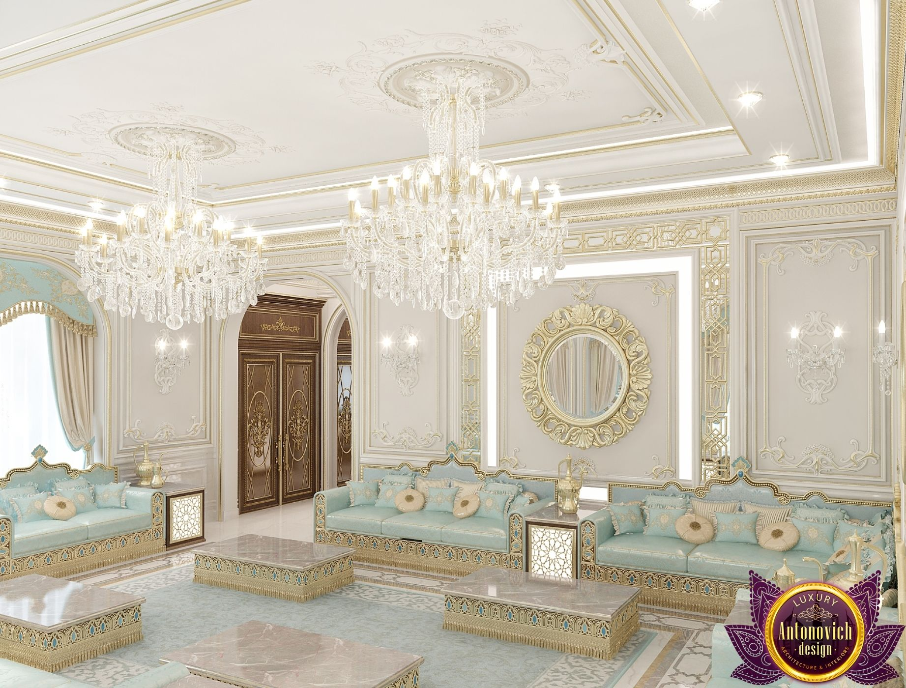 majlis interior design in dubai luxury lady majlis design. Black Bedroom Furniture Sets. Home Design Ideas