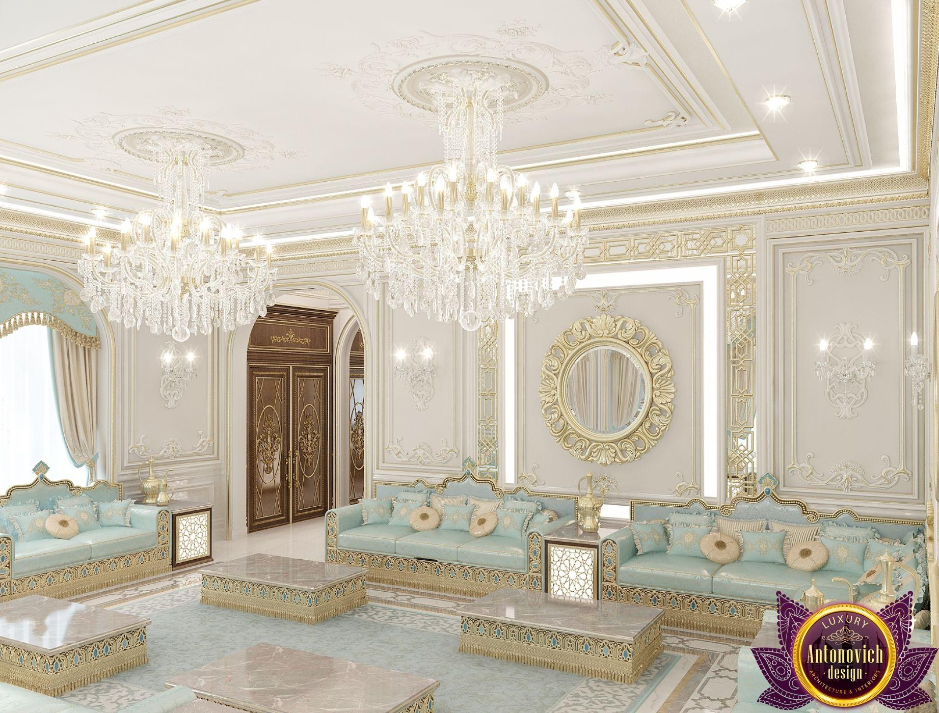Majlis Interior Design in Dubai, Luxury Lady Majlis Design, Photo 5 ...