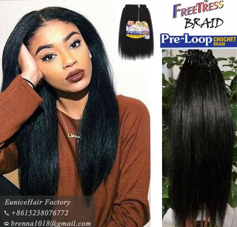 Freetress Synthetic Braid Pre Looped Yaki Braids 100% Goodkinky ... Freetress Synthetic Braid Pre Looped Yaki Braids 100% Goodkinky ... Crochet Hair Styles freetress crochet hair styles