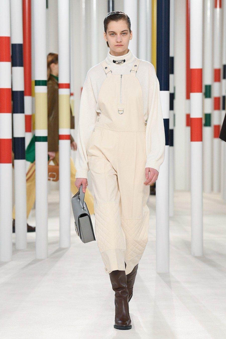 Hermès Fall 2020 ReadytoWear collection, runway looks