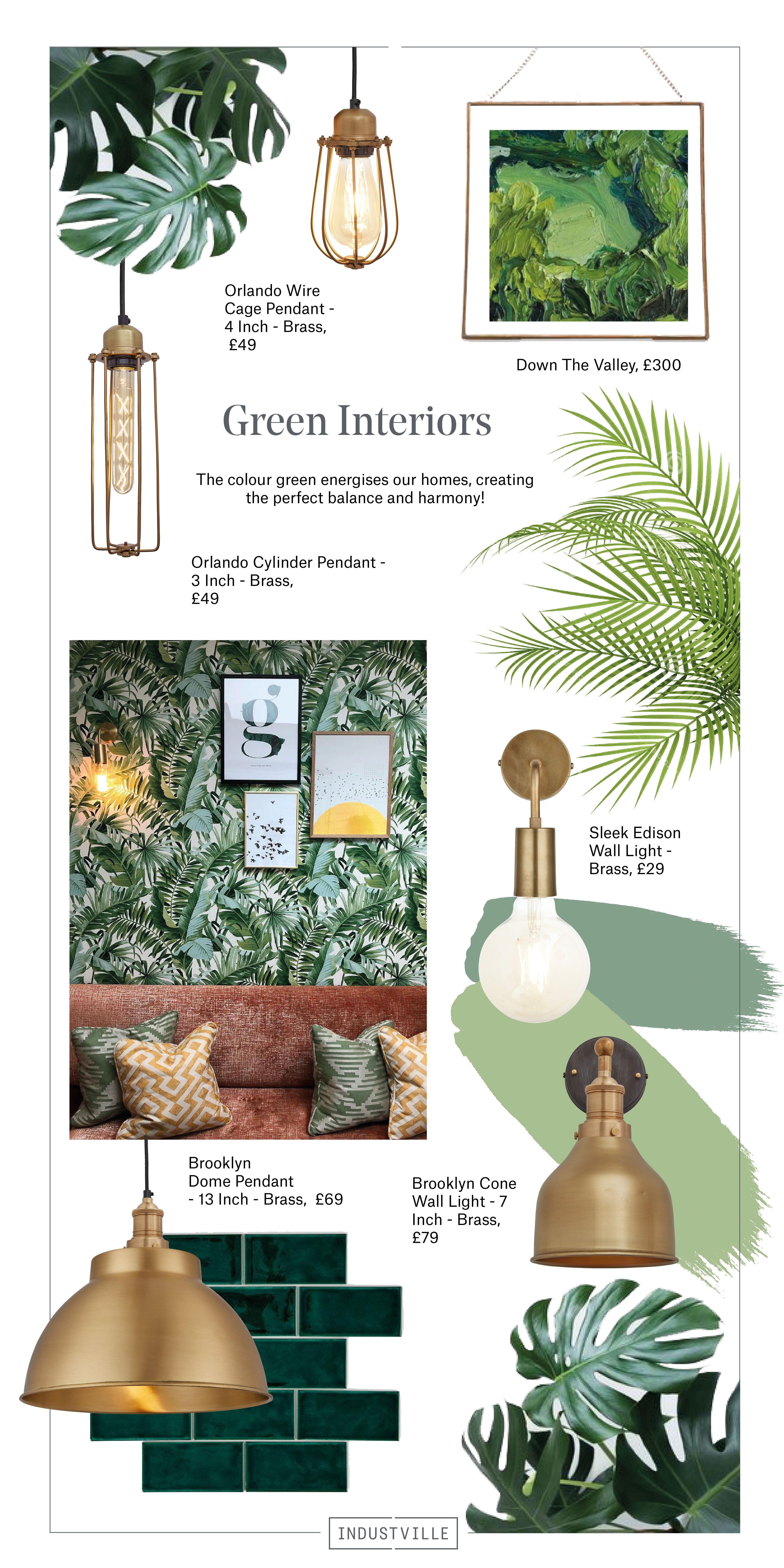 Energise Your Interior With The Colour Green in 2019 | Green