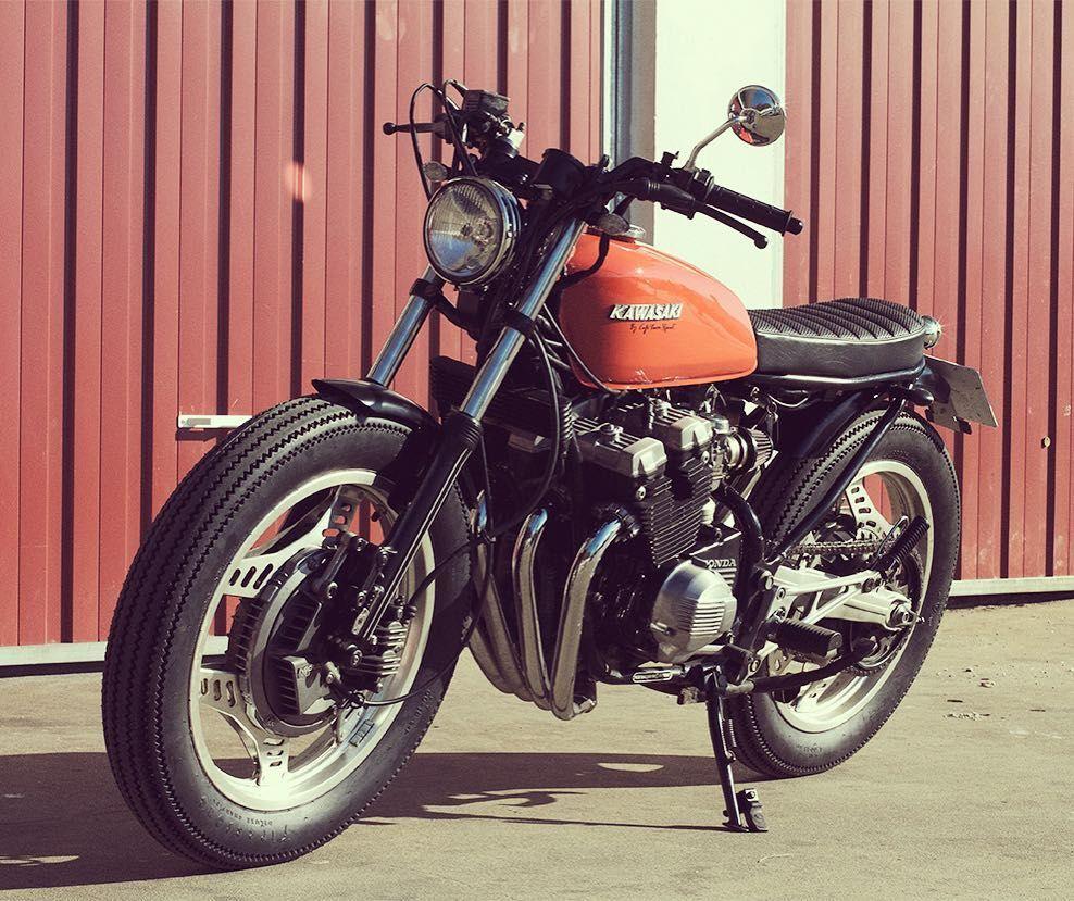 Unobtanium Giant-Killer: 1982 Honda #CBX400F by @caferacersspirit. Link in Profile #caferacer #bratbike