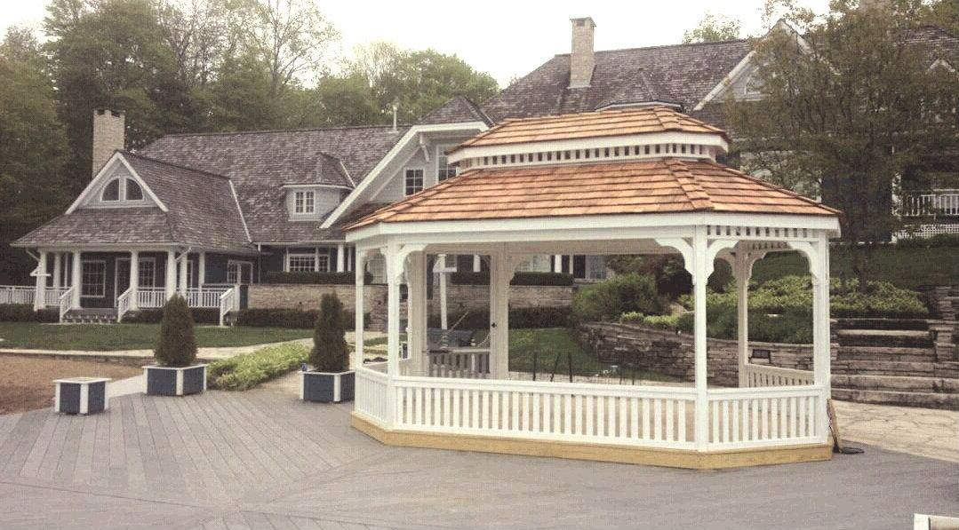 Gazebos Canada - North Country Sheds - Garage Shed, wooden ...