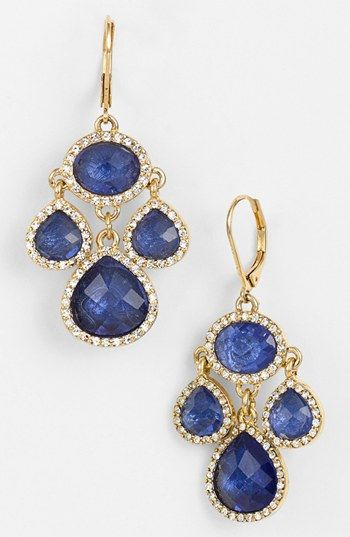 Anne Klein Small Chandelier Earrings available at Nordstrom's - gift I'd love to give brides maids