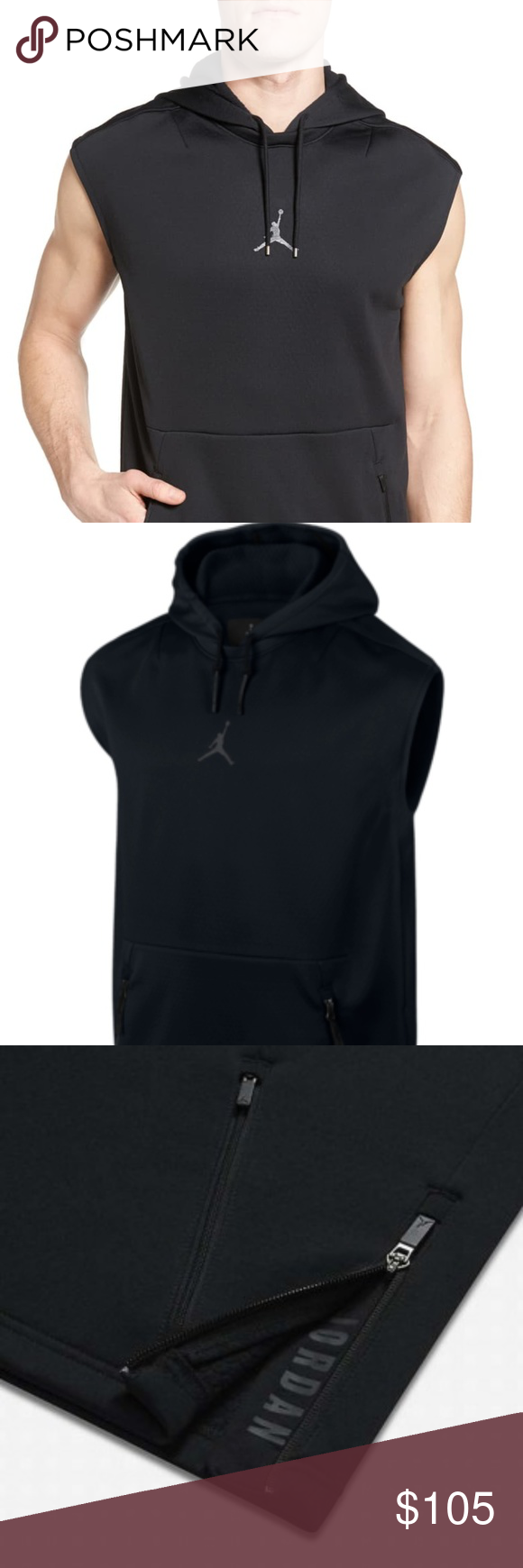 Nike Air Jordan 360 Therma Sphere Training Hoodie *NEW Nike