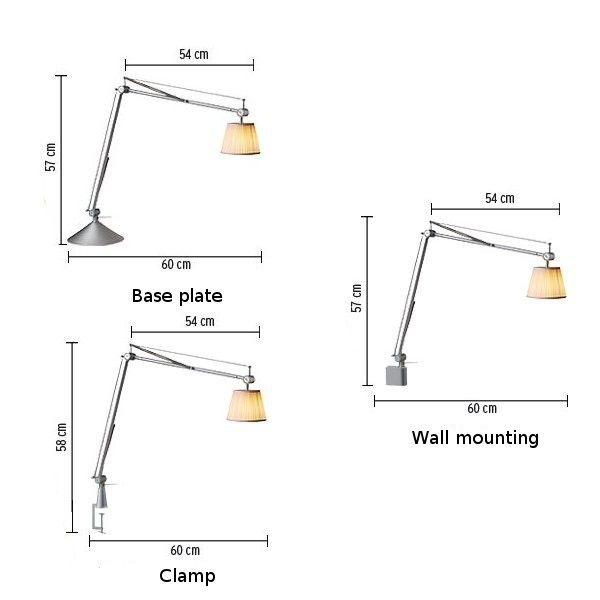 Flos Archimoon Soft desk lamp