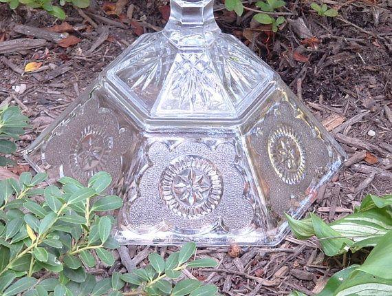 Garden art. Bird bath. Bird feeder. The by ReCreationsInGlass