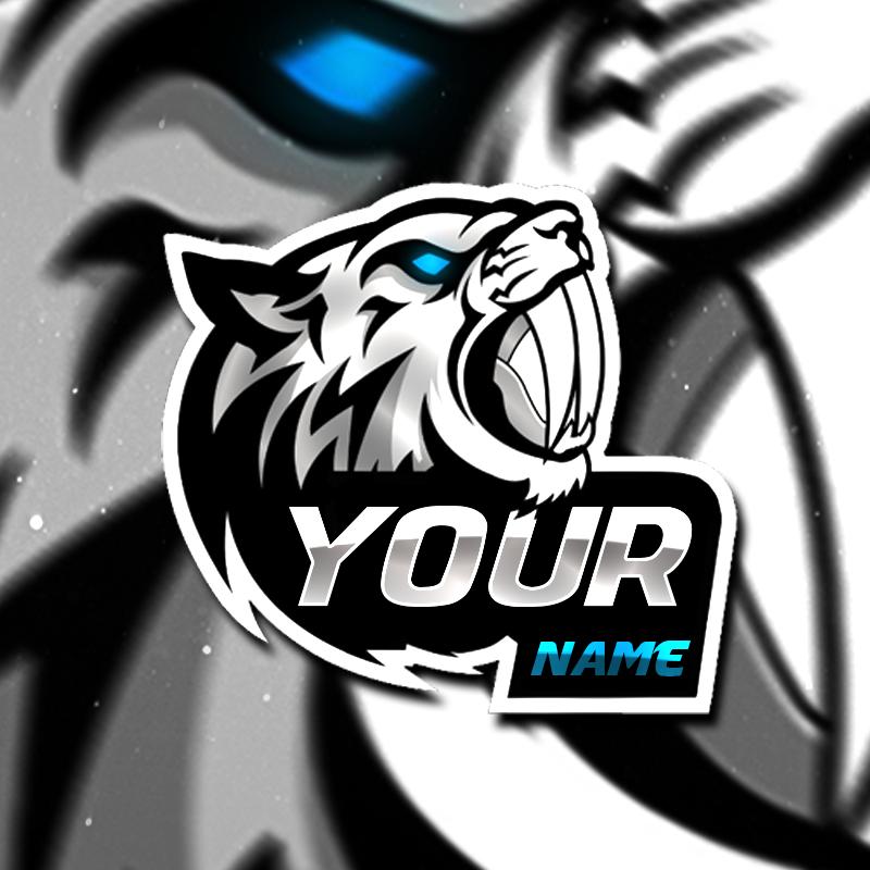 Tiger Gaming Clan Mascot Avatar Free Psd Zonic Design Download Logo Keren Desain Logo Gambar Naga
