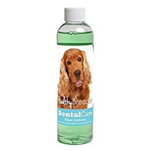 Healthy Breeds Dog Dental Care Water Additive for Cocker Spaniel - Over 200 Breeds - Helps Fr... #dentalcare