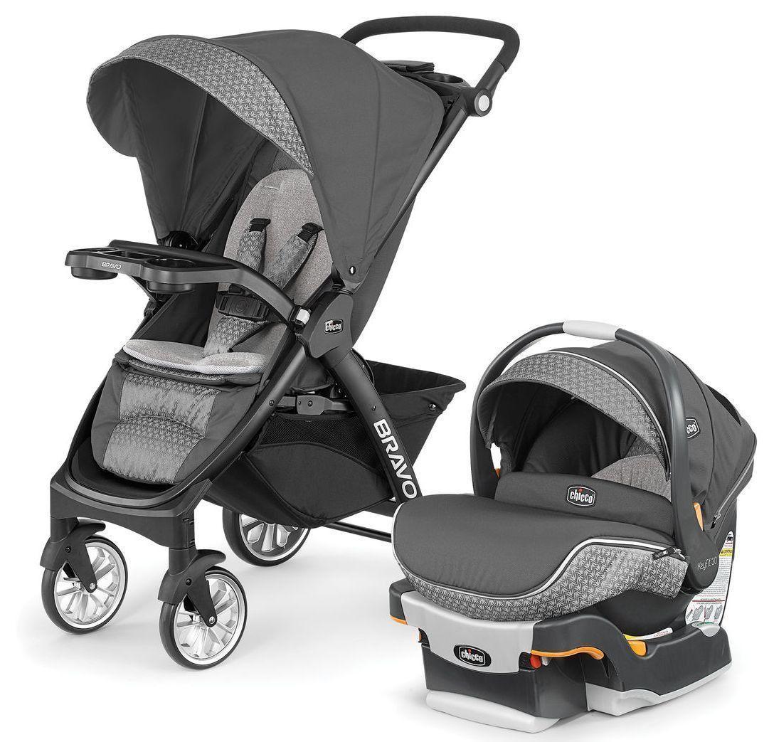 Chicco Bravo LE Trio Travel System Stroller w/ KeyFit 30