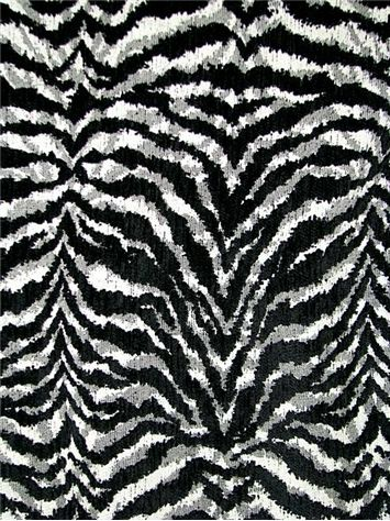"""Kenya Onyx - Soft chenille accent tiger fabric. Thick and soft. Perfect for  any drapery or upholstery fabric project. Poly Cotton. 54"""" wide. e9689366f"""