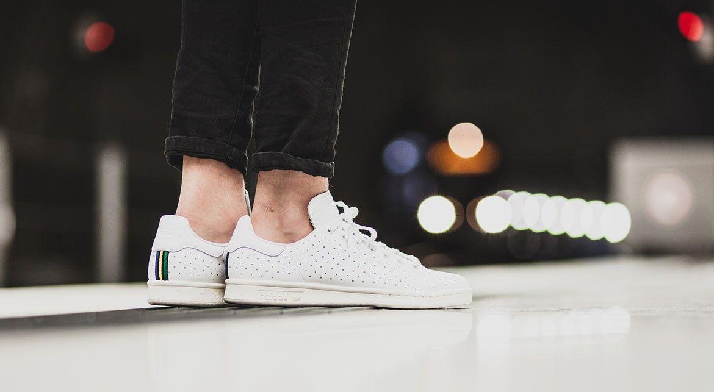 29b1f9fc948c9 Stan Smith « White » – Une nouvelle version perforée de la mythique paire  Adidas  Adidas  stansmith  sneakers
