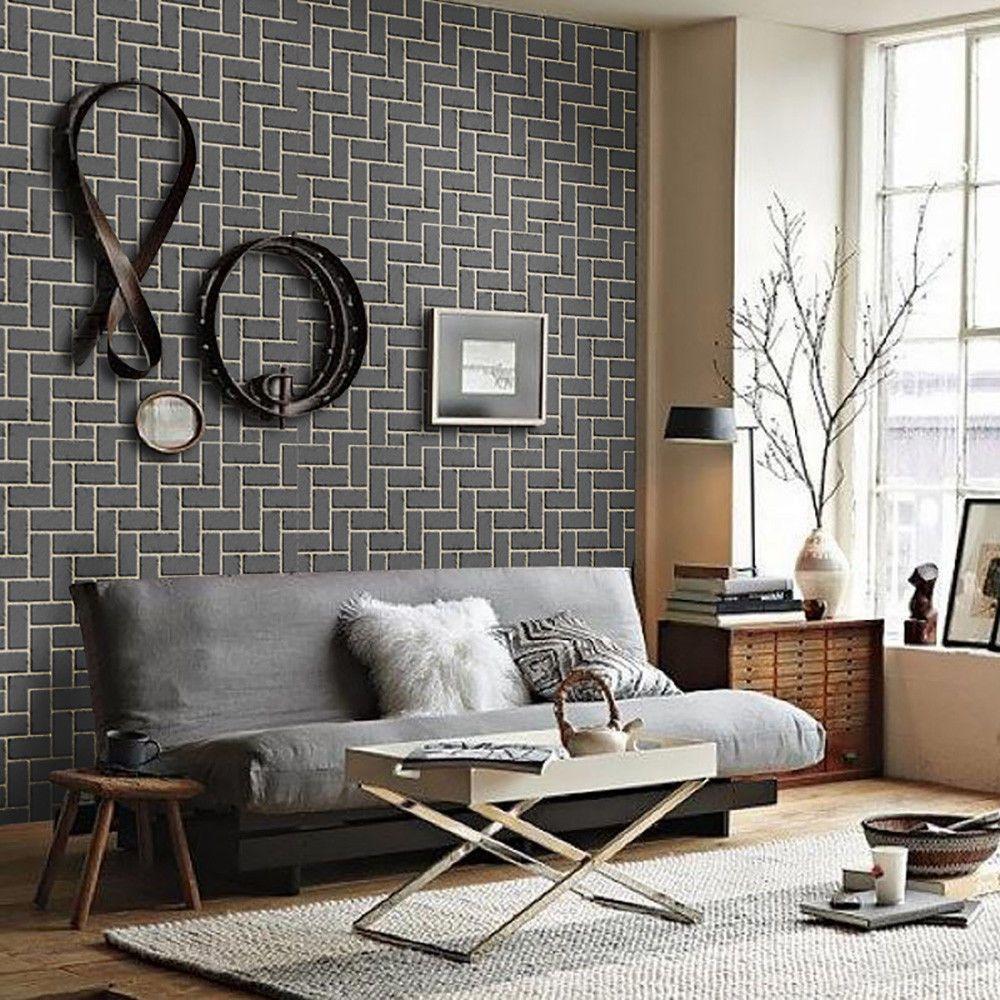 3D Self Adhesive Brick Stone DIY Wall Decal Peel and Stick