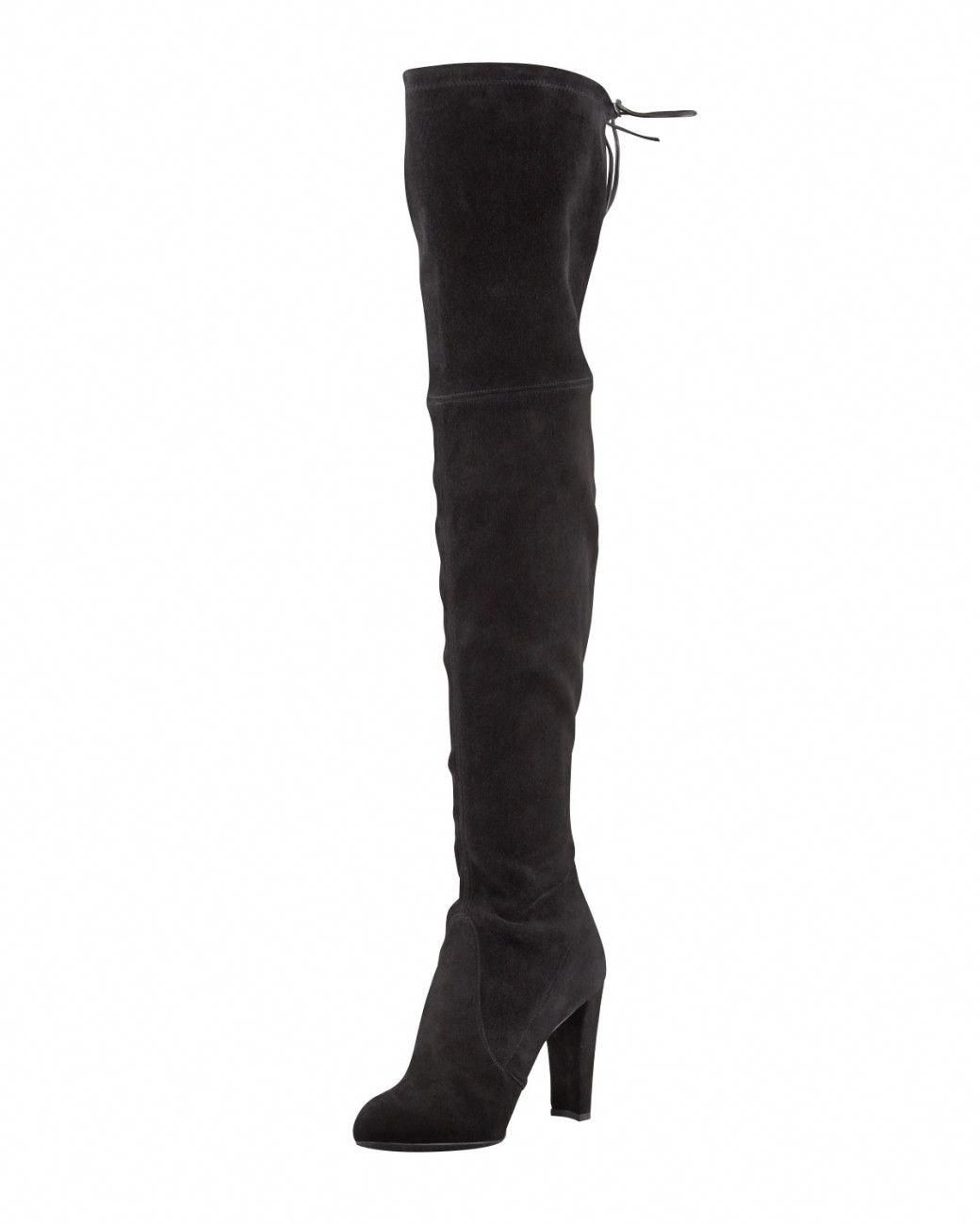0864b82d7c56 Stay one step ahead of the crowd with Stuart Weitzman s Highland boots.  Boasting this season s