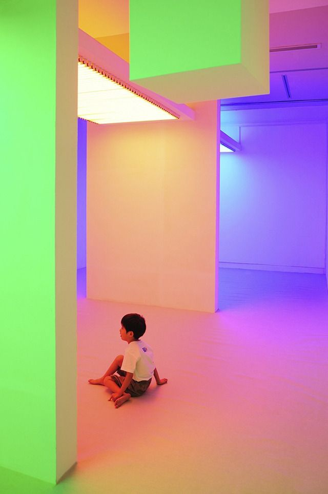 Color Becomes A Perception Altering Substance In These Interactive Rooms The Creators Project